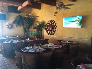 Latitude 31 restaurant in Rocky Point, Mexico